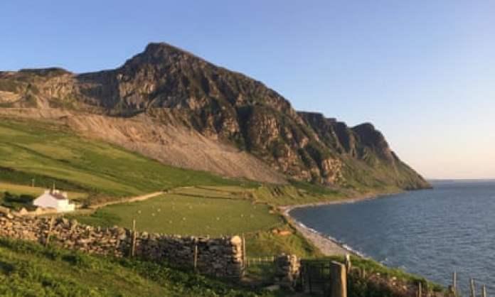 Llyn peninsula near Bert's Kitchen Garden