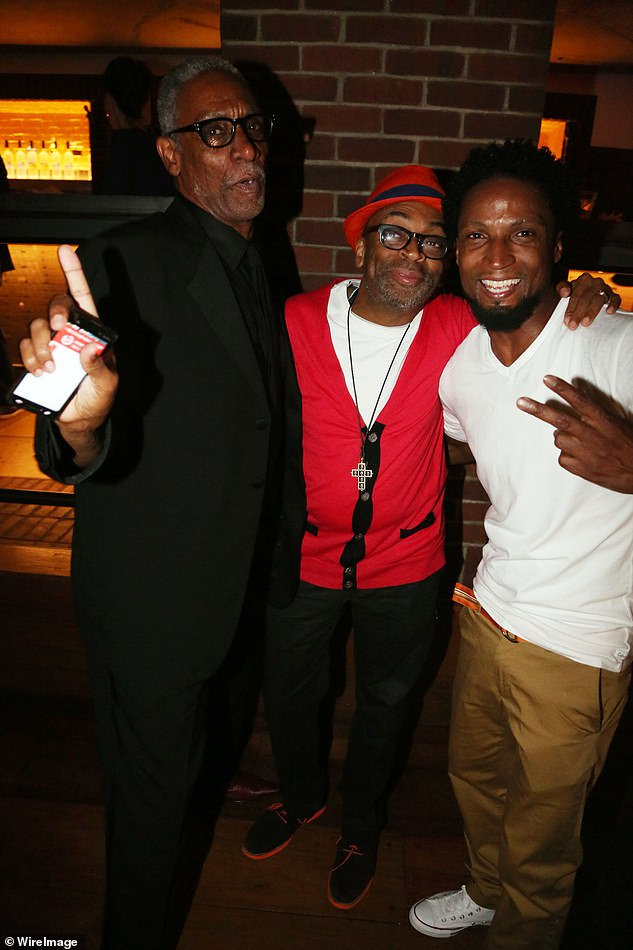 Byrd had appeared in a number of films directed by Lee (pictured together with Elvis Nolasco in 2014), including Clockers, Get On The Bus, Bamboozled and Chi-Raq