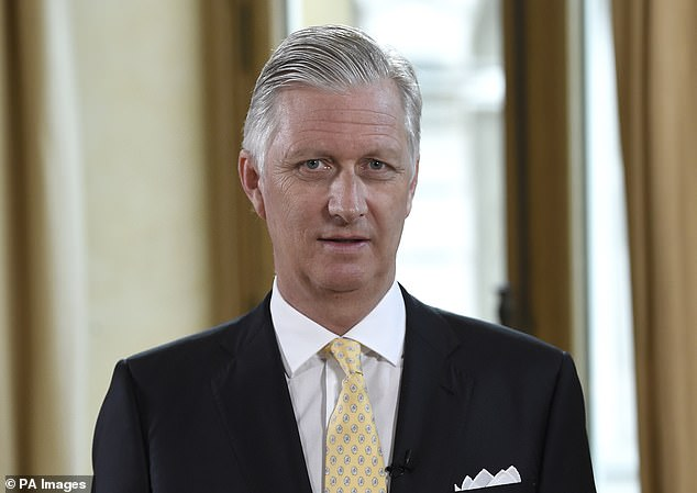 King Philippe of Belgium (pictured) took over from his father after he abdicated in July 2013 citing ill health