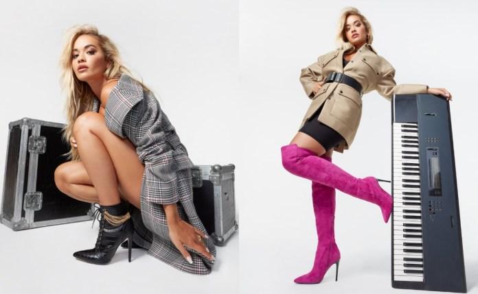 ShoeDazzle teams up with Rita Ora