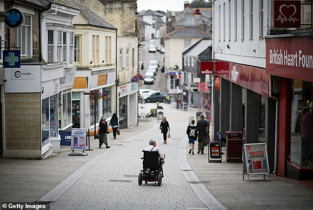 Redruth was one of the towns visited by the researchers.Experiments carried out by the research team looked at whether people would post a lost letter, return a dropped item and stop to let someone cross the road