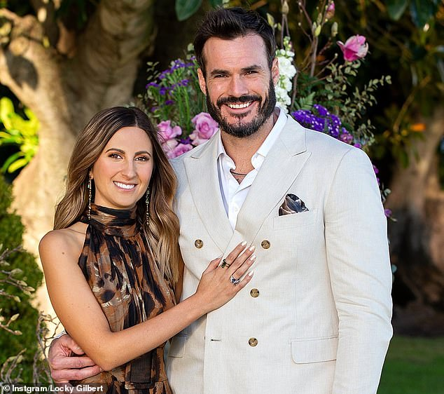 Torn:During last month's Bachelor finale, Locky told both Irena and runner-up Bella Varelis that he was in love with them - but then had the tricky task of sending one home