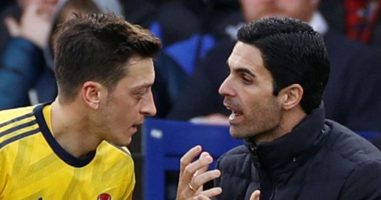 Mikel Arteta warned Mesut Ozil decision could 'come back to bite him'