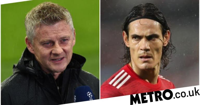 Ole Gunnar Solskjaer wants Erling Haaland as Edinson Cavani's long-term replacement at Manchester United