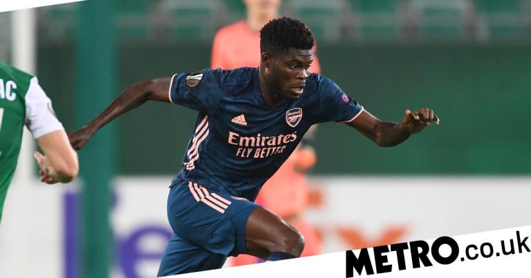 Ray Parlour hails Thomas Partey's full debut and likens midfielder to Arsenal legend Patrick Vieira