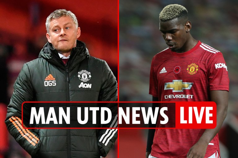 12pm Man Utd news LIVE: Solskjaer not the right man – Deeney, Pogba 'should have done better', Van de Beek LATEST