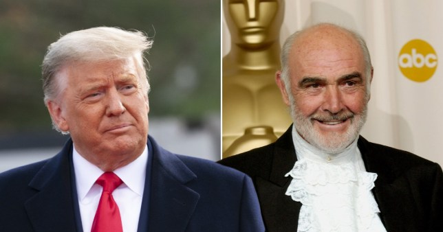 Donald Trump on Sean Connery's death