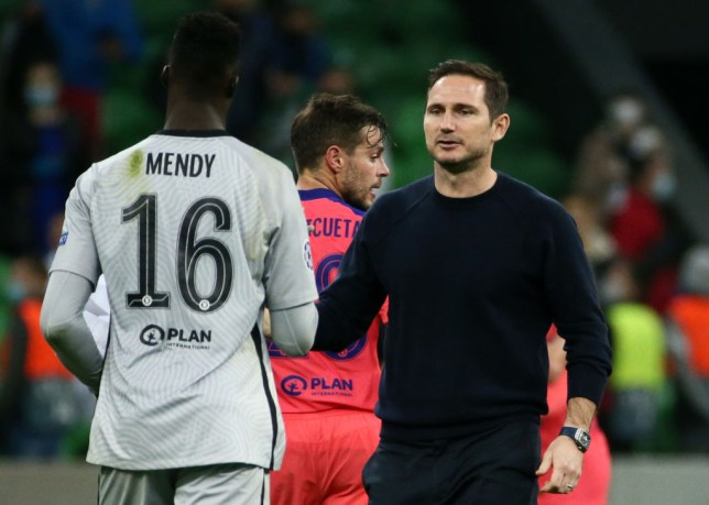 Lampard has been happy with Mendy's start to life at Stamford Bridge
