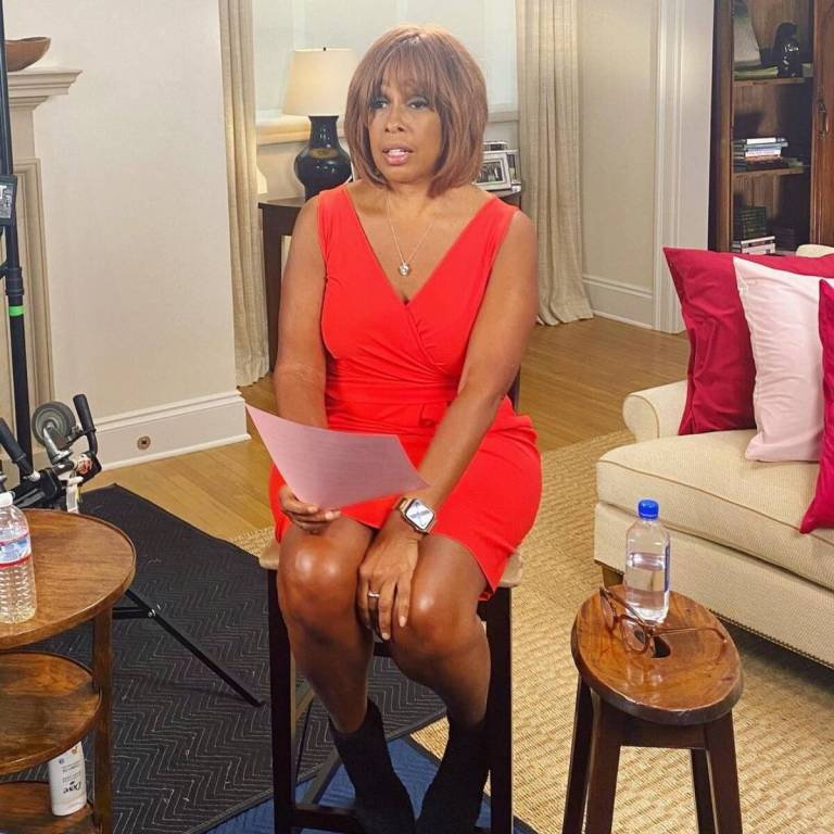 Gayle King Documents Her Weight Loss Journey Ahead of Election Night Coverage