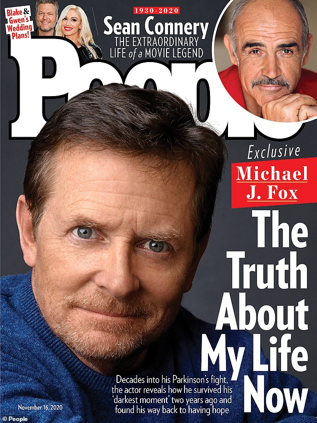 Candor: In the new People issue Michael J. Fox, 59, revealed the 'darkest moment' that left even him unable to find an 'upside'