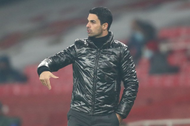 Mikel Arteta left Folarin Balogun out of Arsenal's squad for last night's match against Molde