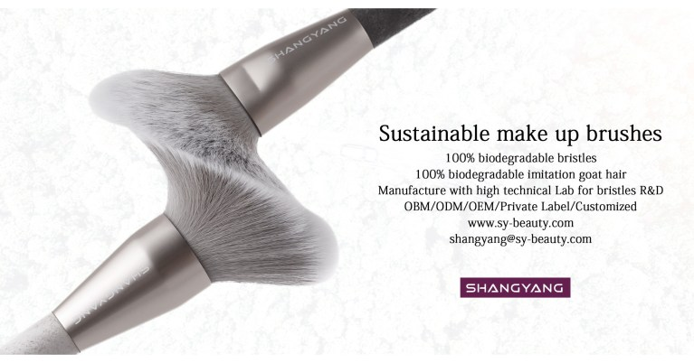 ShangYang Announces the Launch of Sustainable Makeup Brushes with 100% Degradable …
