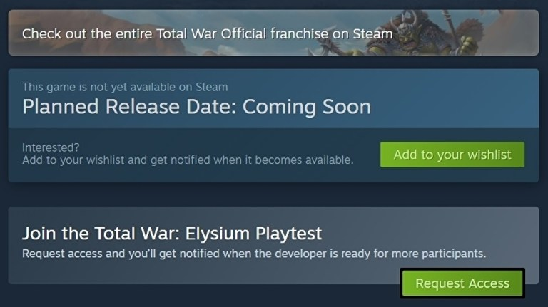Steam Playtest lets devs easily invite players to test their games