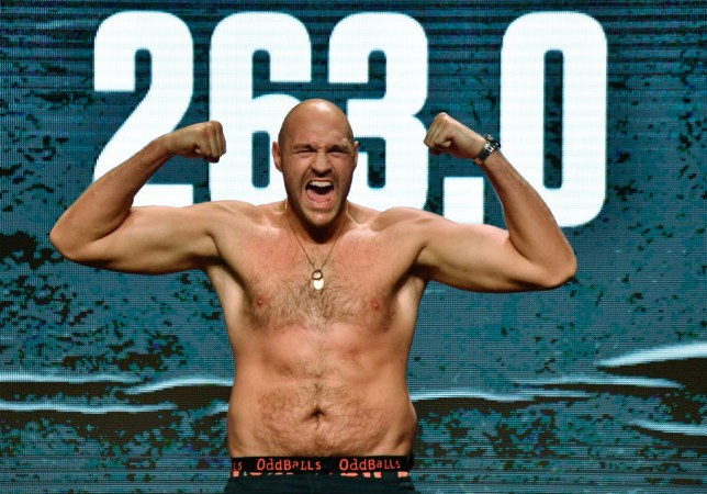 Tyson Fury is scheduled to fight in London on December 5