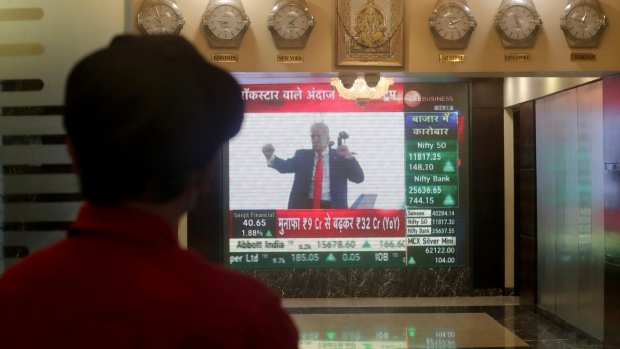 US futures, Asia markets rise as investors eye presidential election