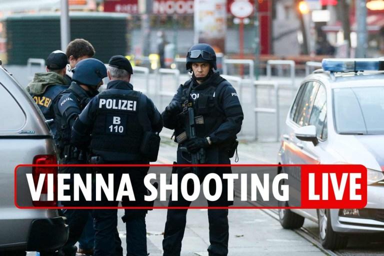 Vienna shooting LIVE – Massive manhunt after ISIS 'Instagram' terrorists kill 4 in gun rampage near Austrian synagogue