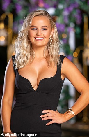 Who will win? Fans have backed Joe Woodbury for Bachelorette winner. Pictured: Elly Miles