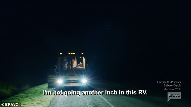 Mystery solved: After a ton of drama regarding the RV's prognosis, the teaser for the series' November 10 episode revealed that Kroy discovered that there was a short in the engine