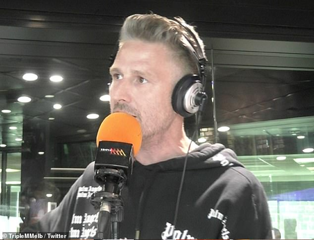 New direction: It comes after Wil commented on his decision to step down from Triple M's Hot Breakfast show in December to focus on his stand-up comedy career