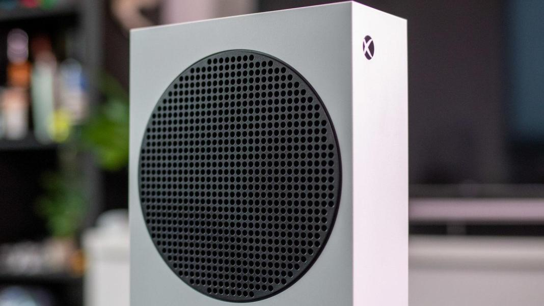 Xbox Series S circle
