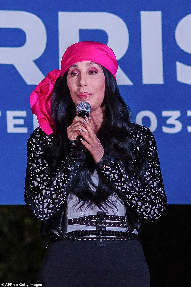 'Hoping for the best': Cher said she was 'not going to watch TV' on election night
