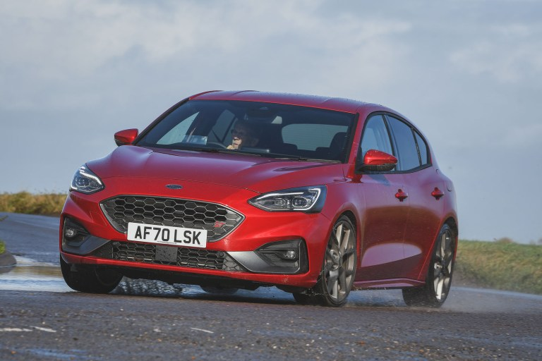 Ford Focus ST automatic 2020 UK review