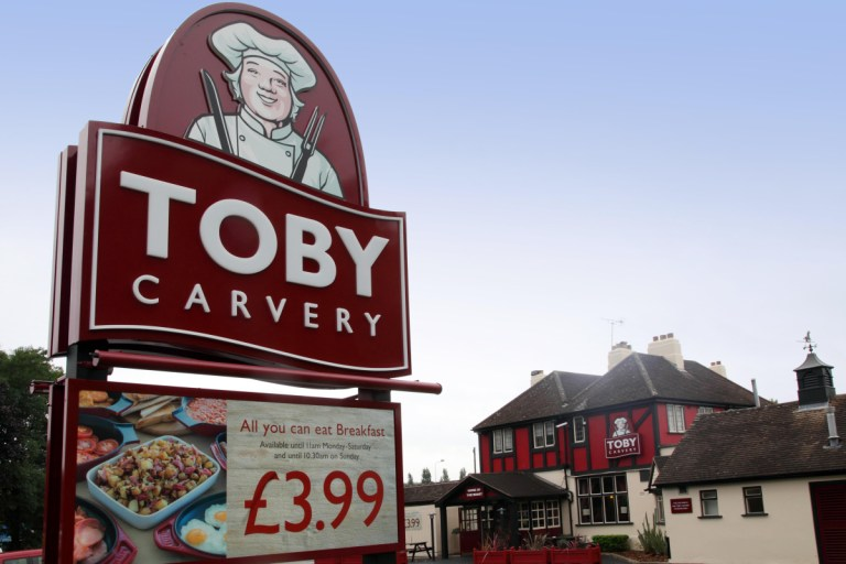 Harvester and Toby Carvery won't offer takeaway or delivery during second lockdown