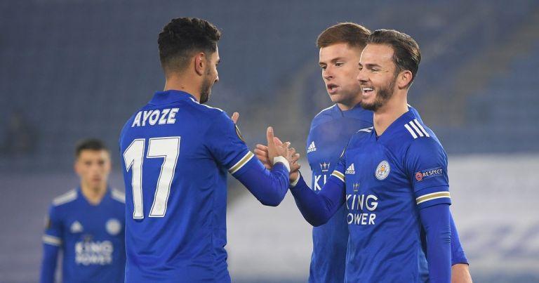 James Maddison sparkles as stylish Leicester claim biggest European victory