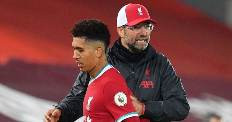 Klopp rejects Firmino claims after Jota bags Liverpool hat-trick