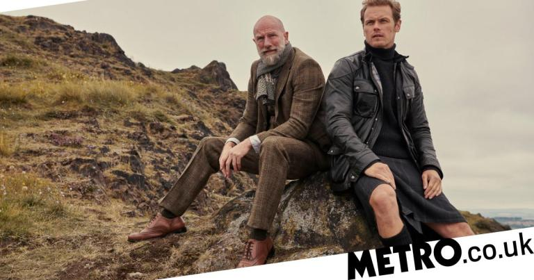 Sam and Graham from Outlander explore the Scottish Highlands for their new book Clanlands