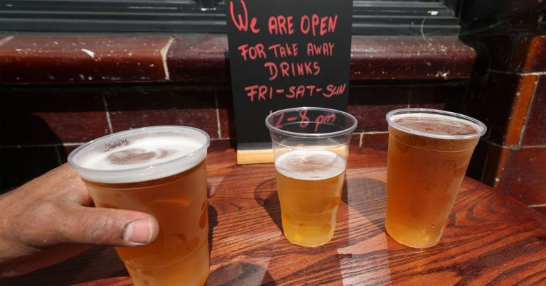 Takeaway pints 'loophole' spotted – drinkers could order by text, call or post