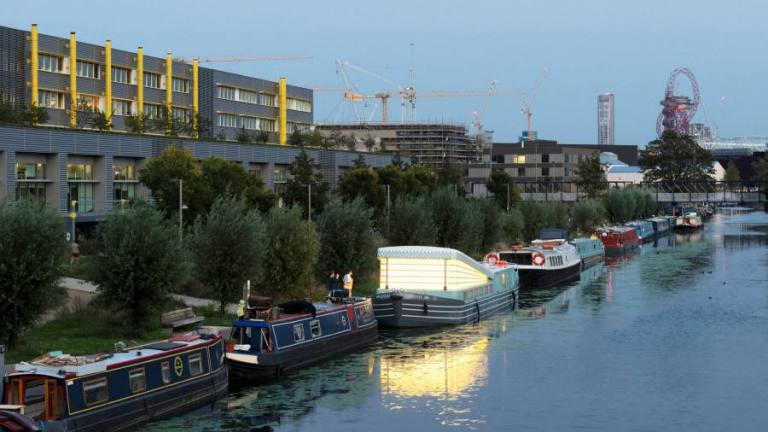 The floating church – a new spiritual hub for east London