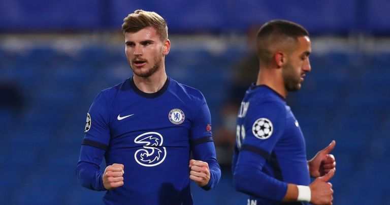 Werner backs up his big talk as Chelsea ease to Champions League win over Rennes