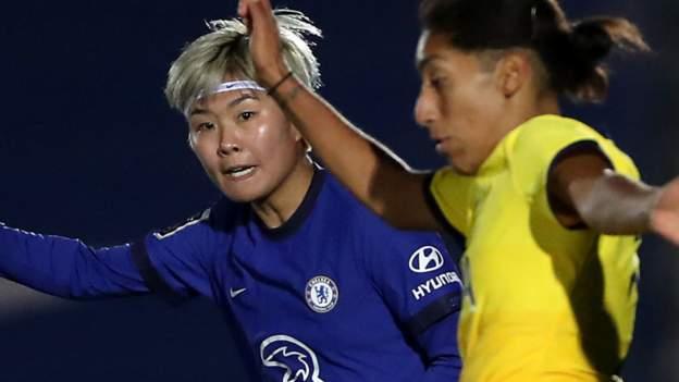 Women's Continental League Cup: Chelsea 2-0 Tottenham Hotspur