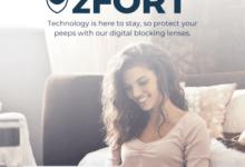 Blue Light Blocking Glasses From SmartBuyGlasses zFORT