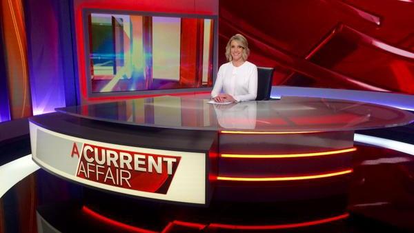 A Current Affair Broadcast Set Design Gallery