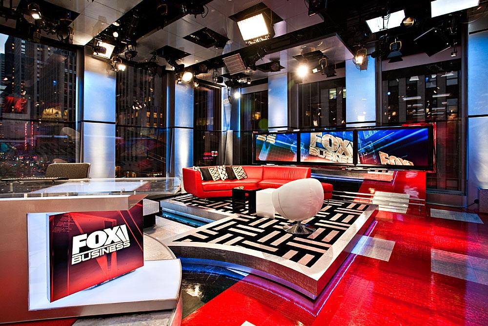 Fox Business Studio G Broadcast Set Design Gallery