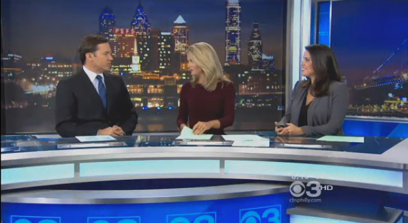 Cbs Philly Debuts New Set Newscaststudio