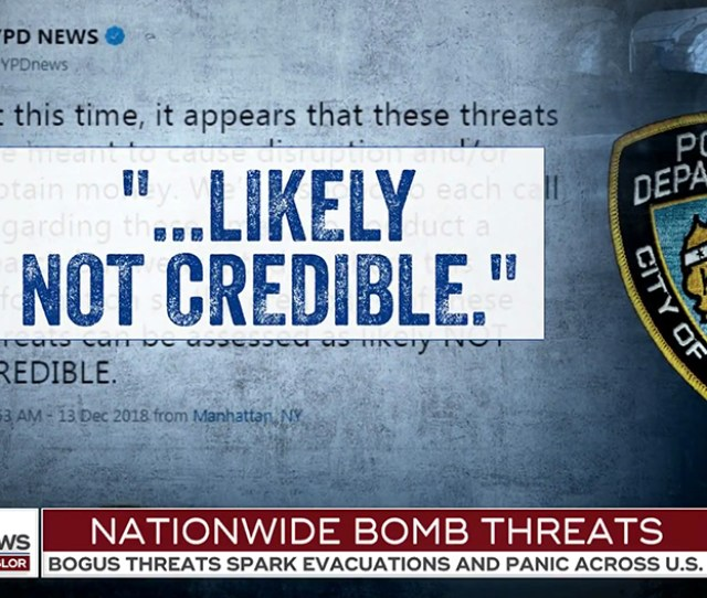 The Network Then Used Its Textured Typography Treatment To Showcase Official Responses To The Threats