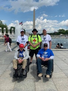 Jim with Midwest Honor Flight