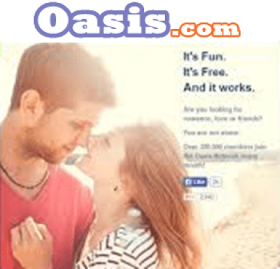 Oasis dating for 100 free