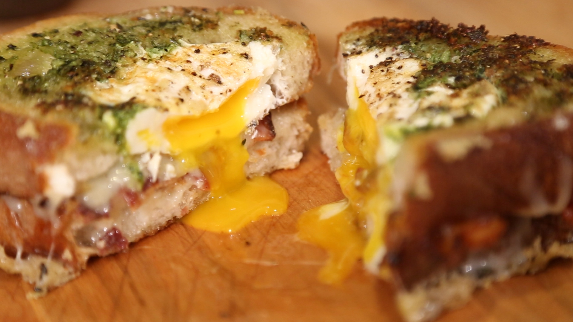Three Next Level Grilled Cheese Sandwiches