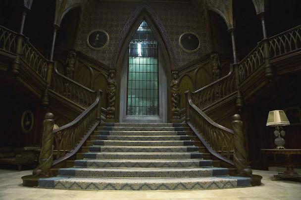 Interno di Collinwood Manor - The Dark Shadows