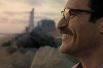 Joaquin Phoenix in Lei