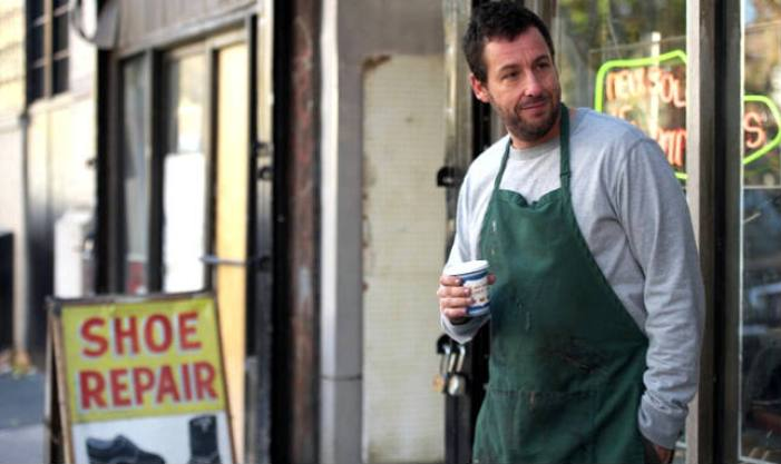 Adam Sandler in Mr Cobbler e la bottega magica