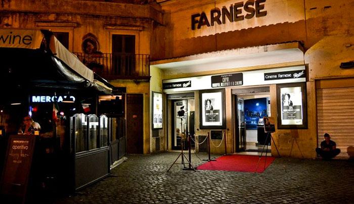 Cinema Farnese Persol Roma
