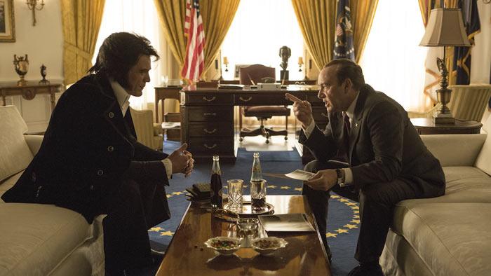 elvis & Nixon recensione