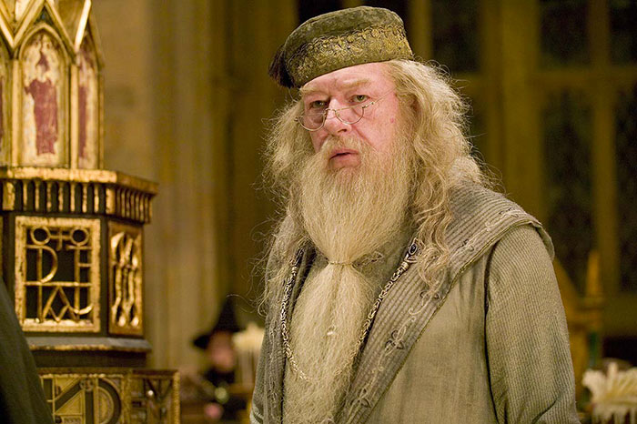 Albus Silente in Harry Potter