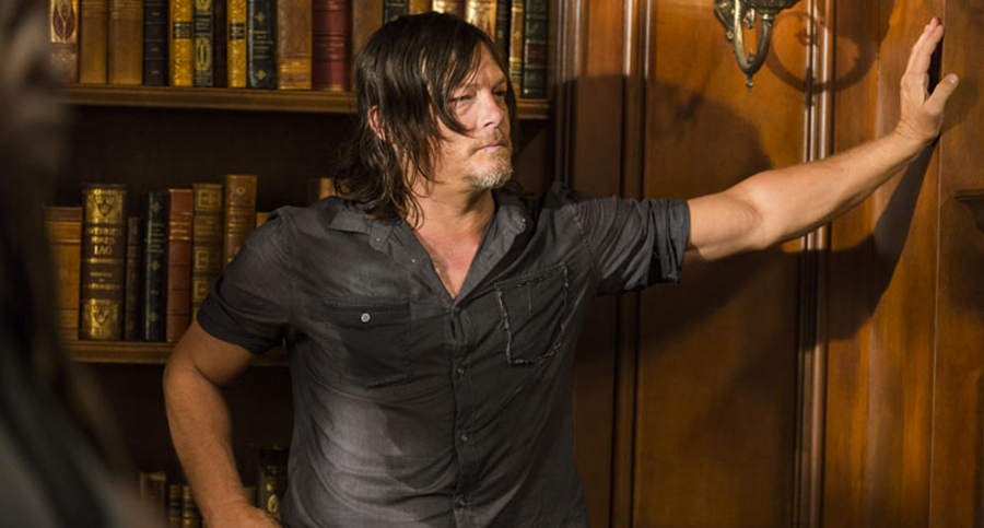 The Walking Dead 7, foto e dettagli dell'episodio Rock in the Road