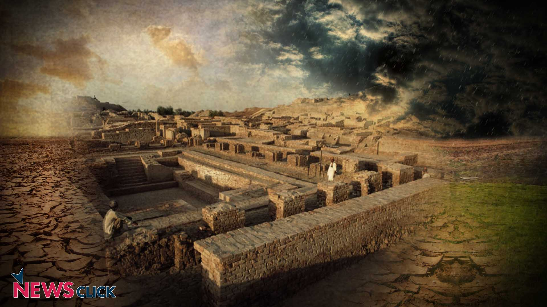 Rise And Fall Of Indus Valley Civilisation Happened Due To
